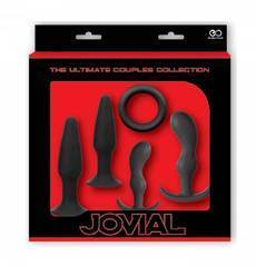 Kit para Treino Anal The Ultimate Jovial Preto