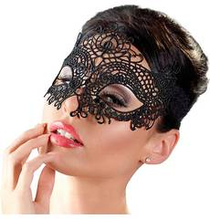 Máscara Cottelli em Renda Preta