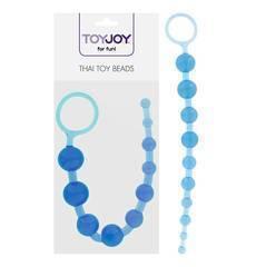 Bolinhas Anais Thai Toy Beads ToyJoy Azul