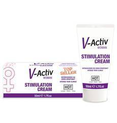 Creme Estimulante Feminino V-Activ 50 ml.