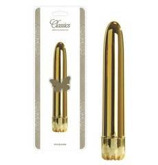 Vibrador Classics Grande Dourado