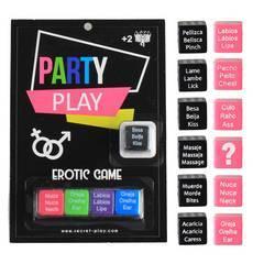 Jogo de Dados Eróticos Party Play