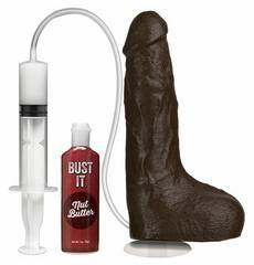Dildo Realístico Bust It Squirting Realistic Cock Castanho