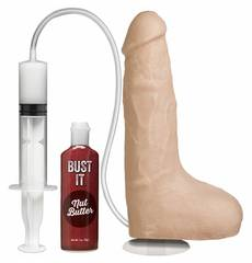 Dildo Realístico Bust It Squirting Realistic Cock Natural