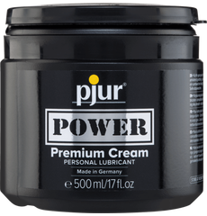 Pjur Power Premium Cream Lubrificante à base de agua