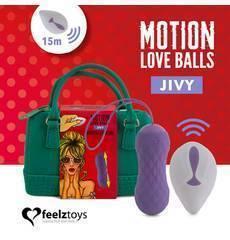 Bolas Vaginais com Vibração Jivy Motion Love Balls