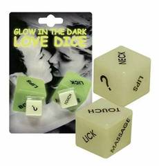 Dados Love Dice Fluorescente