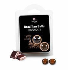 Bolinhas Explosivas Brazilian Balls Chocolate 2 un