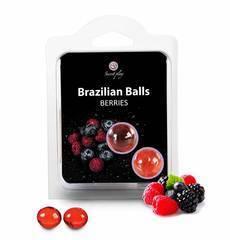 Bolinhas Explosivas Brazilian Balls Frutos Vermelhos 2 un