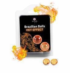 Brazilian Balls Efeito Calor 2 Un.