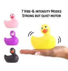 Patinho Vibratório I Rub My Duckie 2 Amarelo
