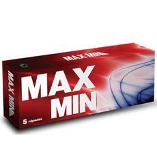 Max Min Potenciador Masculino 5 Cápsulas