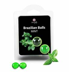 Bolinhas Explosivas Brazilian Balls Menta 2 un.