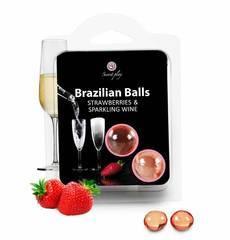 Brazilian Balls Morango & Champanhe 2 un.