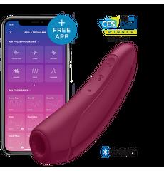 Satisfyer Curvy 1 + Vermelho com App Connect