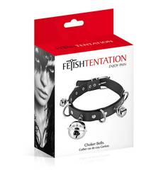 Coleira Chocker Bells Fetish Tentation