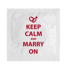 Preservativo Keep Calm and Marry On