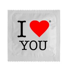 Preservativo I Love You