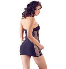 Mini Vestido Shredded Style NO: XQSE