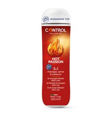 Gel de Massagem Control Hot Passion 3 in 1