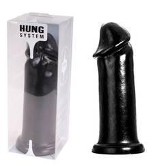Dildo XXL Hung System Toys Preto