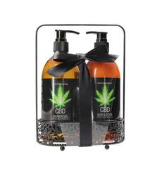 Kit CBD Bath and Shower Luxe Care Set
