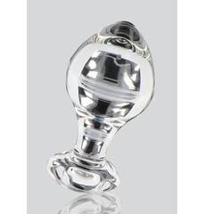 Plug Anal em Vidro Glass Worxx Briliant Star
