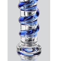 Plug Anal em Vidro Glass Worxx G-Spot Gemstone