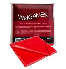 Lençol em Vinil Wet Games Vermelho