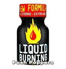 Poppers Liquid Burning 9 ml.