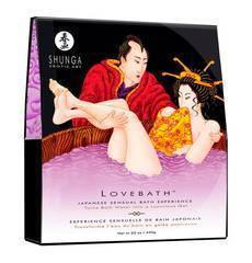 Sais de Banho Shunga Love Bath - Sensual Lotus 650 g.
