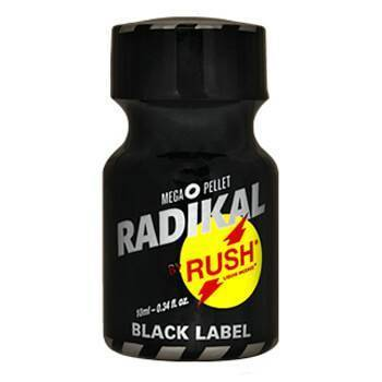 Poppers Radikal Rush Black Label 10 ml.